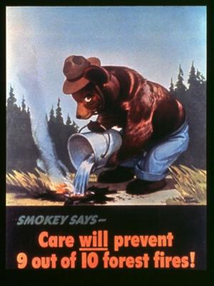1944, Smokey Bear
