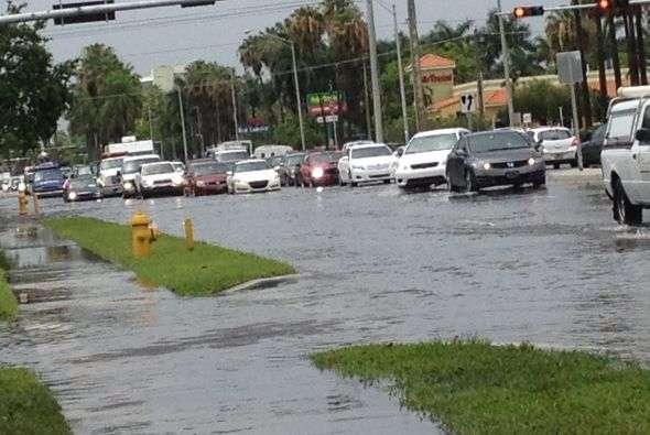 Inundaciones en el Doral